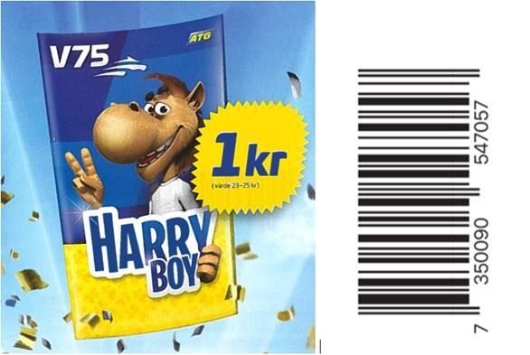 ATG firar med Harry Boy för en krona | ATG